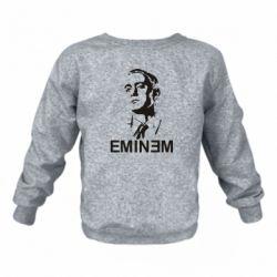Детский реглан (свитшот) Eminem Logo