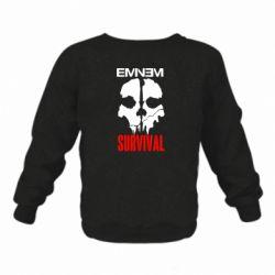 Дитячий реглан (світшот) Eminem Survival