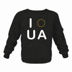 Детский реглан (свитшот) Euro UA