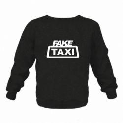 Дитячий реглан (світшот) Fake Taxi