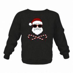 Дитячий реглан (світшот) Fashionable Santa