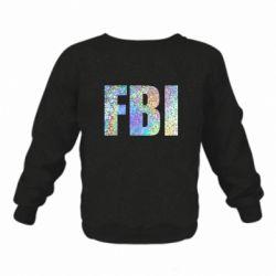Дитячий реглан (світшот) FBI голограма