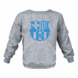 Детский реглан (свитшот) FC Barcelona