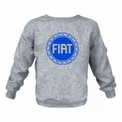Дитячий реглан (світшот) Fiat logo