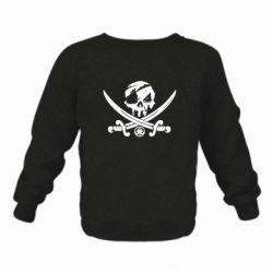 Дитячий реглан (світшот) Flag pirate