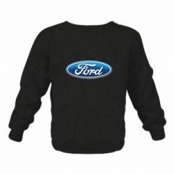 Детский реглан (свитшот) Ford 3D Logo