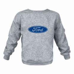 Детский реглан (свитшот) Ford Logo