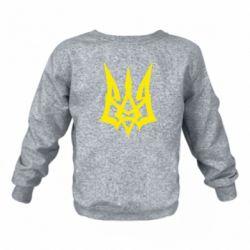 Дитячий реглан (світшот) Герб України новий