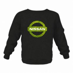 Дитячий реглан (світшот) Green Line Nissan
