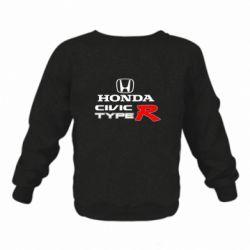 Дитячий реглан (світшот) Honda Civic Type R