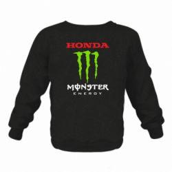 Дитячий реглан (світшот) Honda Monster Energy