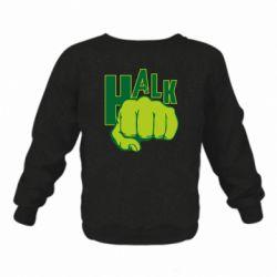 Детский реглан (свитшот) Hulk fist