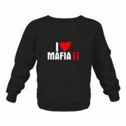 Детский реглан (свитшот) I love Mafia 2