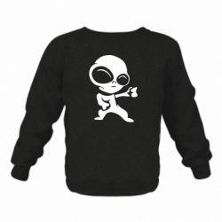 Дитячий реглан (світшот) Інопланетянин
