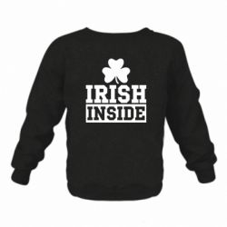Детский реглан (свитшот) Irish Inside