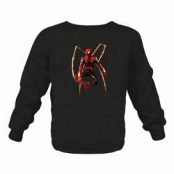Дитячий реглан (світшот) Iron man spider