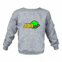 Дитячий реглан (світшот) JDM Style