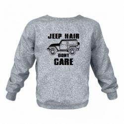 Дитячий реглан (світшот) Jeep hair don't care