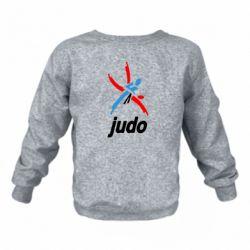 Дитячий реглан (світшот) Judo Logo