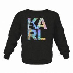 Дитячий реглан (світшот) Karl fashion designer