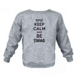 Детский реглан KEEP CALM and BE SWAG - FatLine