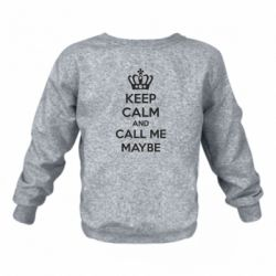 Детский реглан KEEP CALM and CALL ME MAYBE - FatLine