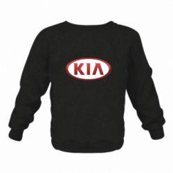 Дитячий реглан (світшот) KIA 3D Logo
