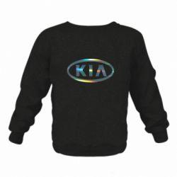 Дитячий реглан (світшот) KIA logo Голограма
