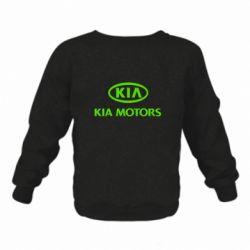 Дитячий реглан (світшот) Kia Logo
