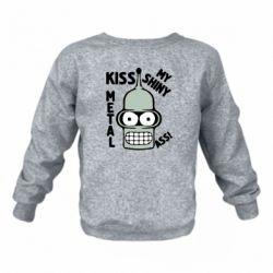 Детский реглан (свитшот) Kiss metal