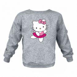 Детский реглан (свитшот) Kitty балярина