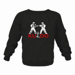 Детский реглан (свитшот) на флисе Kudo Fight