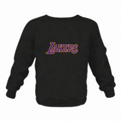 Детский реглан LA Lakers - FatLine
