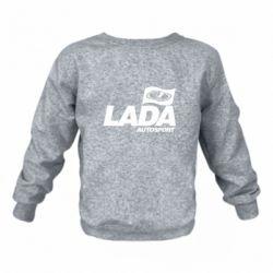 Детский реглан (свитшот) Lada Autosport