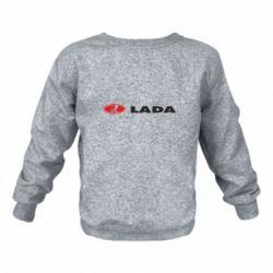 Детский реглан (свитшот) Lada