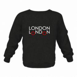 Дитячий реглан (світшот) London