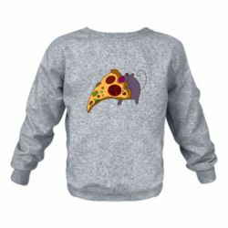 Детский реглан (свитшот) Love Pizza 2