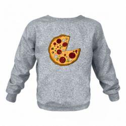 Дитячий реглан (світшот) Love Pizza