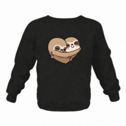 Дитячий реглан (світшот) Love sloths