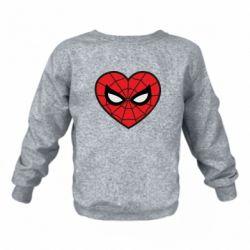 Дитячий реглан (світшот) Love spider man