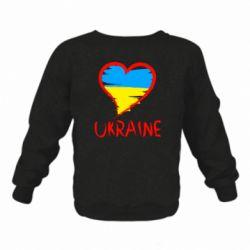 Дитячий реглан (світшот) Love Ukraine