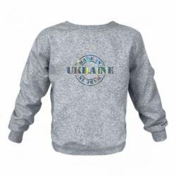 Детский реглан (свитшот) Made in Ukraine Голограмма