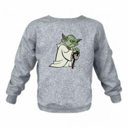 Детский реглан (свитшот) Master Yoda