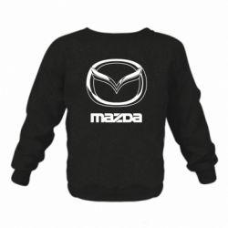 Дитячий реглан (світшот) Mazda Logo
