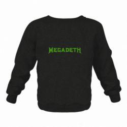 Дитячий реглан (світшот) Megadeth