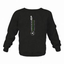 Детский реглан (свитшот) Mercedes GP Vert