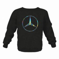 Дитячий реглан (світшот) Mercedes Лого Голограма