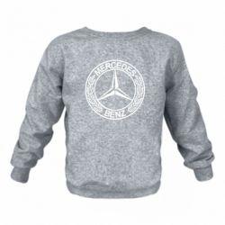 Дитячий реглан (світшот) Mercedes Логотип