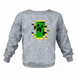 Дитячий реглан (світшот) Minecraft 3D