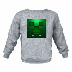 Детский реглан (свитшот) Minecraft Face